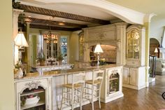 American Kitchen in Spanish style