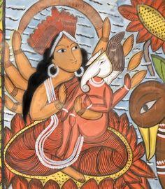 Indian Epics: Images and PDE Epics: Image: Baby Ganesha