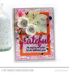 Grateful Card by Jul