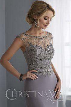 Christina Wu 17862 Dress - MadameBridal.com