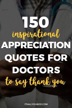 Looking for quotes to thank your doctor on National Doctors Day? Here are 150 inspirational appreciation quotes for doctors to say thank you. Motivational Quotes For Success, Work Quotes, Quotes To Live By, Life Quotes, Inspirational Quotes, Mindset Quotes, You Are Beautiful Quotes, Fantastic Quotes, Funny Thank You Quotes