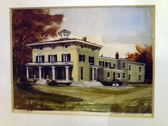 Painting of Sarobia in its heyday. Click on picture to be brought to my blog's features on the history of the old estate.