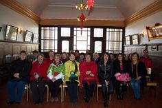Group photo in the Chin Wing Chun Society building