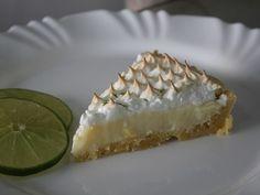 Receita de Torta de limão com suspiro - Tudo Gostoso