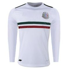 Mexico National Team 2017-18 Away LS White Jersey Shirt [K325]