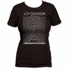 Retro fun! Joy Division Unknown Pleasures womens size t-shirts in stock now #joydivision