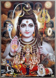 Lord Shiva or Siva is one the principal deities in Hinduism. Here is a collection of Lord Shiva Images and HD Wallpapers categorized by various groups. Shiva Parvati Images, Shiva Hindu, Shiva Art, Shiva Shakti, Rudra Shiva, Durga Maa, Durga Goddess, Hindu Deities, Lord Shiva Statue