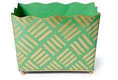 Magazine Bin, Green Sweetgrass on OneKingsLane.com