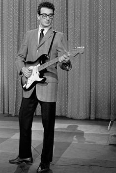 Buddy Holly … Making it possible for any spotty third former to be a rock'n'roll star.