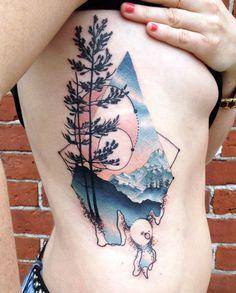 Une sélection des superbes tatouages de l'artiste canadien Cody Eich, basé à Burlington. Images © Cody Eich (faceb