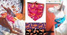 Šátek pro psa PODENCO | Lobo collars - pohodlné a kvalitní obojky pro psy Dog Collars, Gift Wrapping, Handmade, Gifts, Design, Wolves, Gift Wrapping Paper, Hand Made, Presents