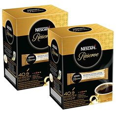 Nescafe Reserve Premium Instant Coffee Pack) -- Quickly view this special product, click the image : Fresh Groceries Nescafe, Instant Coffee, Gourmet Recipes, Nespresso, Coffee Maker, Packing, Fresh, Bb, Room Ideas