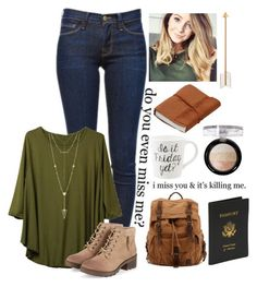 """Fall is Coming!"" by lizzybel-18 liked on Polyvore featuring Frame Denim, House of Harlow 1960, Royce Leather and beldesigns16"