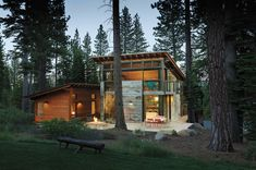 Prefabulous is righ! My kind of cabin in the woods contemporary exterior Prefabulous World