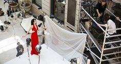 Confira as fotos dos bastidores do Calendário Campari 2015