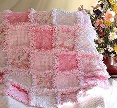 Rag Quilt Ideas | this pink rag quilt... | Inspiration Ideas I ♥