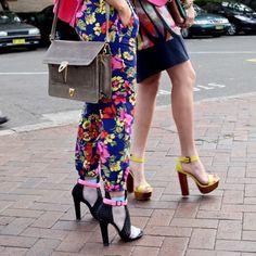 Shoes... at Australia Fashion Week #mbfwa #streetstyle http://leeoliveira.com