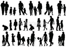 silhouette kinderen - Google zoeken