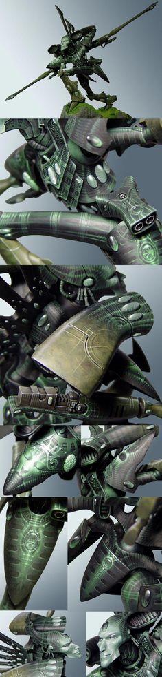 """Warhammer 40k """"Kettarian Hunter"""" Eldar Revenant Titan"""