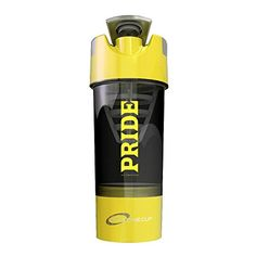 #1 Pride Shaker Bottle 20oz- Protein Shaker is  Design For Mixing Protein Powders, Pre & Post Workout Supplements or Fruit Infuser- No Clumps Or Chunks.  For Pro and Amature Bodybuilders