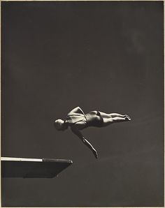 Olympic fever continues! Olympic High Diving Champion, Marjorie Gestring. By John Gutmann, 1936.