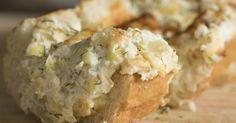 Stuffed Artichoke Bread