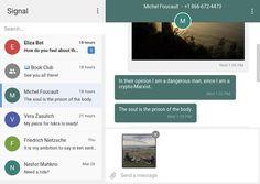 La app de mensajería cifrada Signal ya está disponible de forma oficial para Chrome - Contenido seleccionado con la ayuda de http://r4s.to/r4s