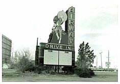 drive-in movie signs | Airway Drive In, St Ann, MO