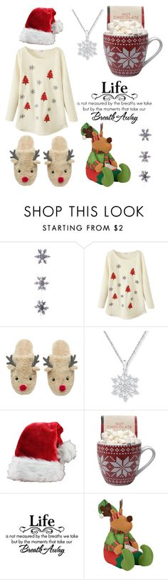 """""""Let's wait for New Year, Christmas⛄, gifts, sweet gingerbreads . Let's wait winter ❄"""" by likeess ❤ liked on Polyvore featuring East of India, women's clothing, women, female, woman, misses and juniors"""