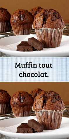 Sweet Desserts, Easy Desserts, Delicious Desserts, Cupcakes, Cupcake Cookies, Chocolate Muffins, Chocolate Cake, Cooking For Beginners, Cooking Tips