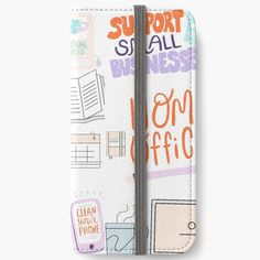 Iphone Wallet, Iphone 6, Iphone Cases, Open Book, Cotton Tote Bags, 6s Plus, Home Office, Adhesive, Cleaning