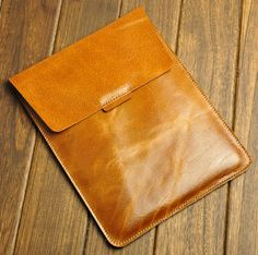 Leather  MacBook Air 13 sleeve MacBook Pro 13 sleeve by XLeather, $48.00
