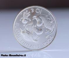 Suomi juhlaraha 10 euroa, Tove Jansson ja lastenkulttuuri KM#116 (2004)
