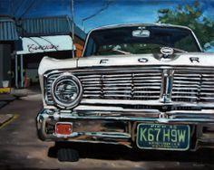 "Pointe-Claire Falcon, oil on canvas, 20"" x 16"" by David Kelavey"