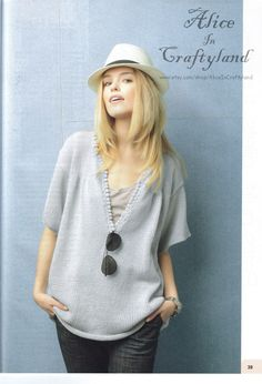 Trendy Large Sweater RARE French Ebook Knitting Pattern Modele Tricot Pull Large PDF Free Shipping. $1.90, via Etsy.