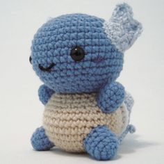 Ravelry: Pokemon: Wartortle pattern by i crochet things