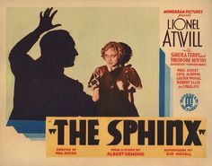 Lobby Card from the film The Sphinx