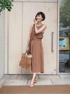 wardrobe の画像|田丸麻紀オフィシャルブログ Powered by Ameba Spring Summer Fashion, Spring Outfits, Japan Fashion, Mode Inspiration, Street Style Women, Her Style, Pretty Dresses, Everyday Fashion, Dress Outfits