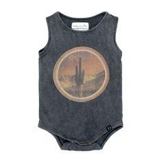Children of the Tribe Eye of the Cacti Onesie | Boho Baby Clothes | Tiny Style | Australia