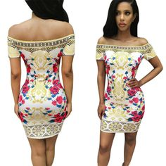 Sunward(TM) Women Traditional African Print Dashiki Bodycon Sexy Dress (Medium, Multicolored). NOTE: Please compare the detail sizes with yours before you buy!!! Use similar clothing to compare with the size. Gender: Women, Pattern type:Print,Style:Stretch, Bodycon. Sleeve:Short sleeve , Size type:Regular ,Dress length:Above knee,Mini. Features:Ethnic Pattern,Sexy Slim Mini Dress,High quality. Package include:1PC Women Dress.