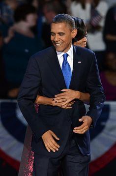 CONGRATULATIONS PRESIDENT OBAMA .  YOU AND MICHELLE TRULY DID THIS TOGETHER.  WE LOVE YOU!