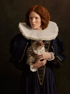 Sacha Goldberger - Peinture Flamande (Flemish Painting):Portrait photography series inspired by the paintings of Rembrandt
