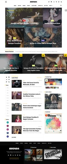 Rhonda - Responsive WordPress News Theme. Live Preview & Download: http://themeforest.net/item/rhonda-responsive-wordpress-news-theme/14278036?ref=ksioks