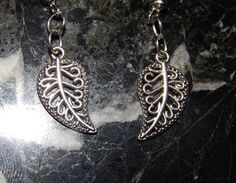 Hey, I found this really awesome Etsy listing at https://www.etsy.com/listing/200880342/tibetan-silver-leaf-dangle-earrings
