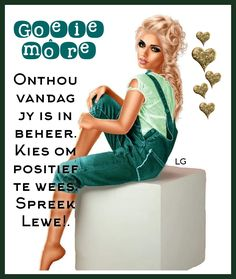 Animated Emoticons, Goeie Nag, Goeie More, Afrikaans, Style, Swag, Outfits