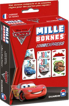 Une version du Mille Bornes CARS 2 au format Express, pour des parties encore plus rapides ! www.jeuxdujardin.fr www.millebornes.fr #mille #bornes #express #cars2 #speed #game