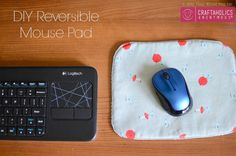DIY Mouse Pad tutorial || Great scrap buster project!