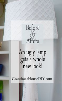 An ugly lamp gets a