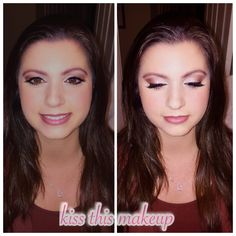 #kissthismakeup #makeupartist #airbrush #eyeshadow #brides #updo #makeup #photooftheday #weddings #hair #igers #igdaily #picoftheday #beautiful @kissthismakeup