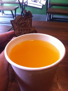 Orange Berret idr 12K #carimakanbdg #kulinerbandung #kuliner #bandung #foodblogger #foodie #foodism #drink #beverage